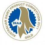 Aust Dairy Prodt Comp gold medal 2011web
